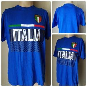 Other - Italia Blue Short Sleeve T-Shirt